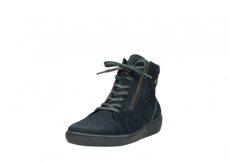 wolky lace up boots 08130 zeus 50800 blue oiled leather_21