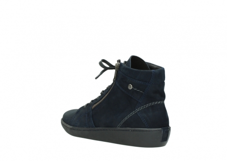 wolky lace up boots 08130 zeus 50800 blue oiled leather_4
