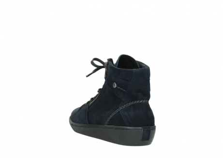 wolky lace up boots 08130 zeus 50800 blue oiled leather_5