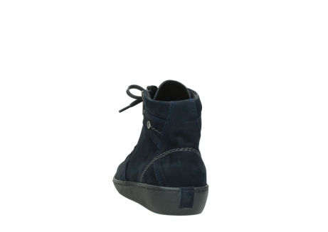 wolky lace up boots 08130 zeus 50800 blue oiled leather_6