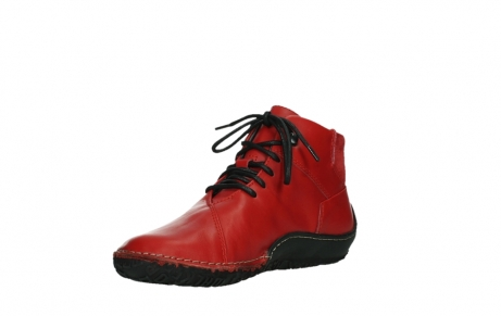 wolky lace up boots 08361 mokola 50500 red leather_10