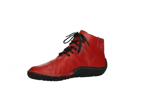 wolky lace up boots 08361 mokola 50500 red leather_11