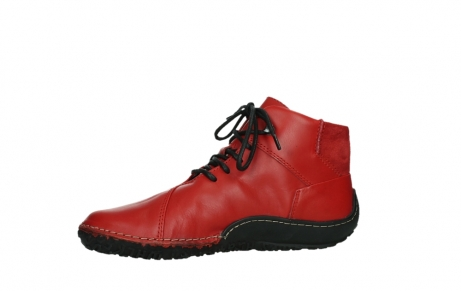 wolky lace up boots 08361 mokola 50500 red leather_12