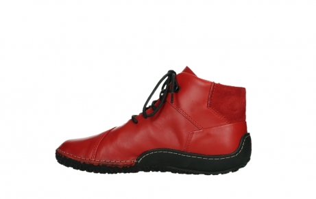 wolky lace up boots 08361 mokola 50500 red leather_14