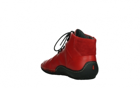 wolky lace up boots 08361 mokola 50500 red leather_17