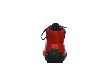 wolky lace up boots 08361 mokola 50500 red leather_19