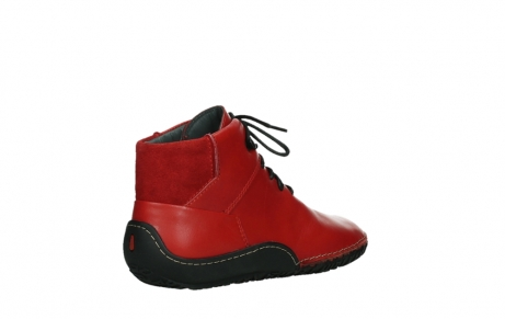 wolky lace up boots 08361 mokola 50500 red leather_22