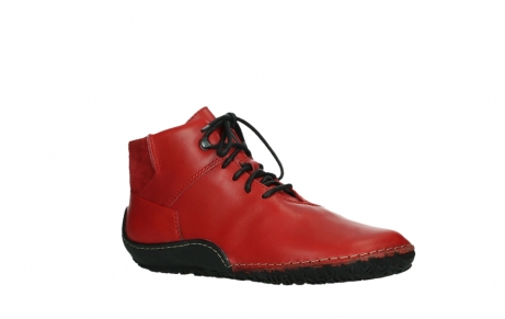 wolky lace up boots 08361 mokola 50500 red leather_3