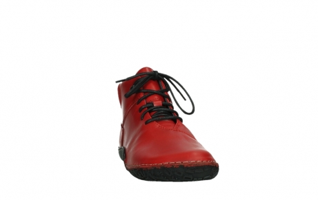 wolky lace up boots 08361 mokola 50500 red leather_6
