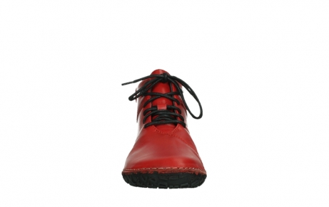 wolky lace up boots 08361 mokola 50500 red leather_7