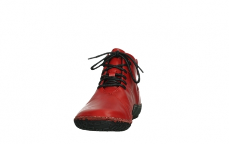 wolky lace up boots 08361 mokola 50500 red leather_8