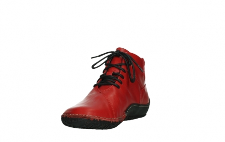 wolky lace up boots 08361 mokola 50500 red leather_9