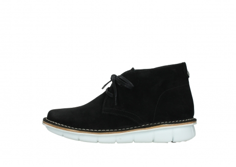 wolky lace up boots 08397 wilna 40070 black olied suede_1