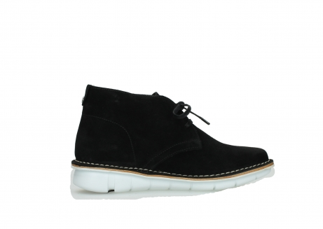 wolky lace up boots 08397 wilna 40070 black olied suede_12