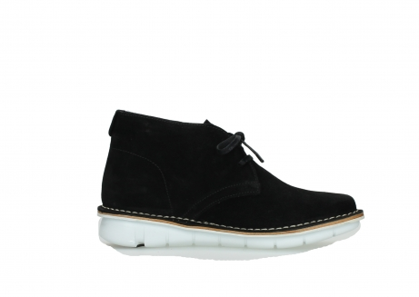 wolky lace up boots 08397 wilna 40070 black olied suede_13