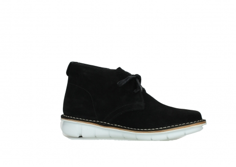 wolky lace up boots 08397 wilna 40070 black olied suede_14