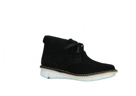 wolky lace up boots 08397 wilna 40070 black olied suede_15