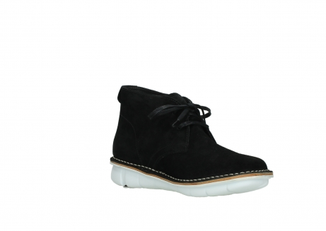 wolky lace up boots 08397 wilna 40070 black olied suede_16