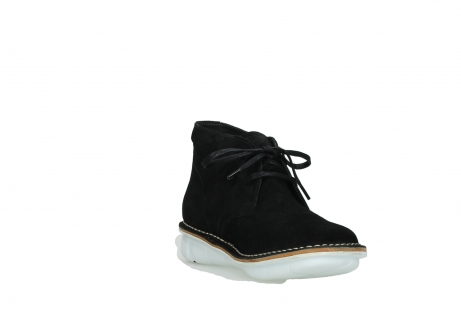 wolky lace up boots 08397 wilna 40070 black olied suede_17