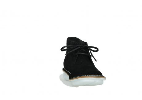 wolky lace up boots 08397 wilna 40070 black olied suede_18