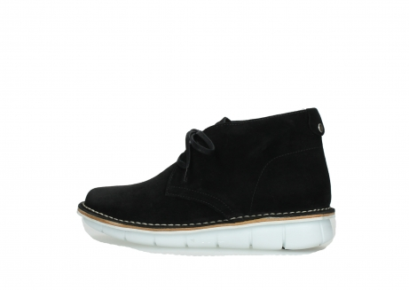 wolky lace up boots 08397 wilna 40070 black olied suede_2
