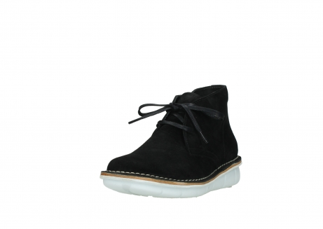 wolky lace up boots 08397 wilna 40070 black olied suede_21