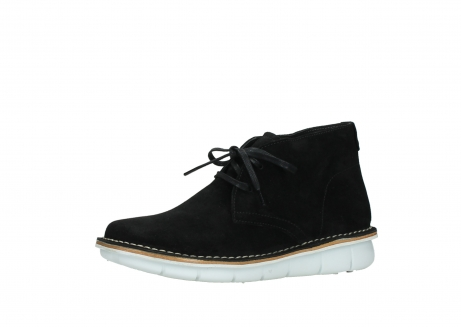 wolky lace up boots 08397 wilna 40070 black olied suede_23