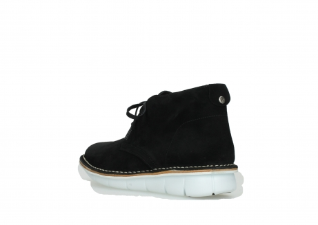 wolky lace up boots 08397 wilna 40070 black olied suede_4