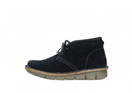 wolky lace up boots 08397 wilna 40870 blue suede_1