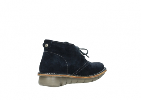 wolky lace up boots 08397 wilna 40870 blue suede_10