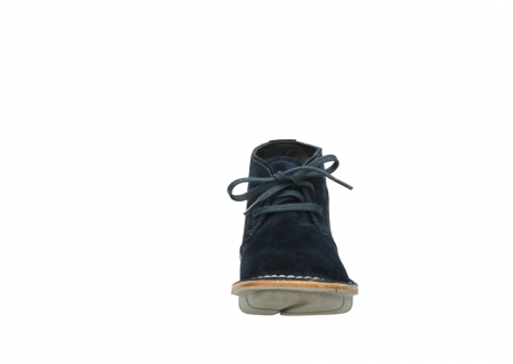 wolky lace up boots 08397 wilna 40870 blue suede_19