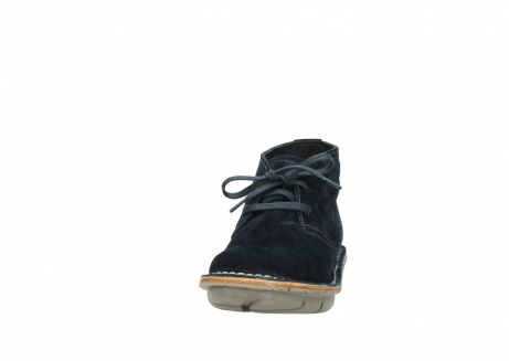 wolky lace up boots 08397 wilna 40870 blue suede_20