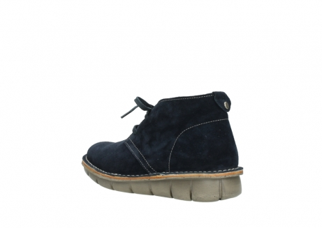 wolky lace up boots 08397 wilna 40870 blue suede_4
