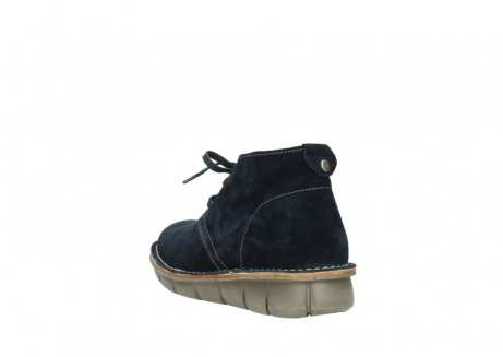 wolky lace up boots 08397 wilna 40870 blue suede_5