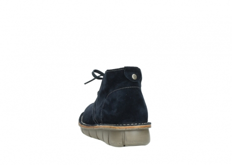 wolky lace up boots 08397 wilna 40870 blue suede_6