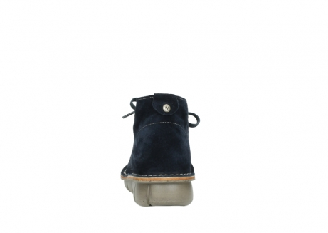 wolky lace up boots 08397 wilna 40870 blue suede_7