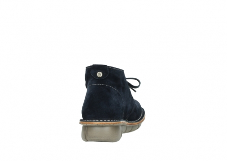 wolky lace up boots 08397 wilna 40870 blue suede_8