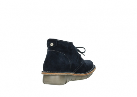 wolky lace up boots 08397 wilna 40870 blue suede_9