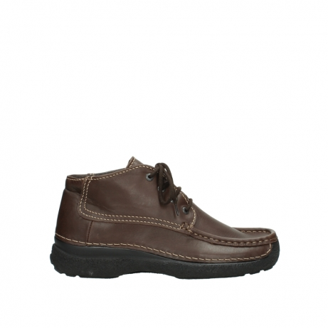 wolky lace up shoes 09203 roll moc basic 50300 brown leather