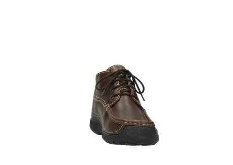 wolky lace up shoes 09203 roll moc basic 50300 brown leather_18