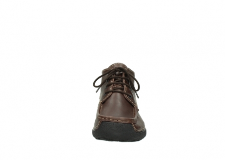 wolky lace up shoes 09203 roll moc basic 50300 brown leather_19