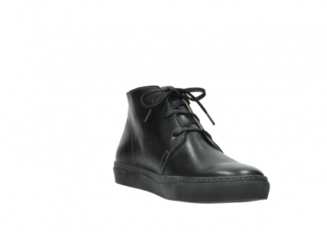 wolky lace up boots 09985 ww ranger 20000 black leather_17