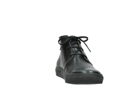 wolky lace up boots 09985 ww ranger 20000 black leather_18