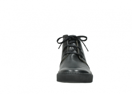wolky lace up boots 09985 ww ranger 20000 black leather_19