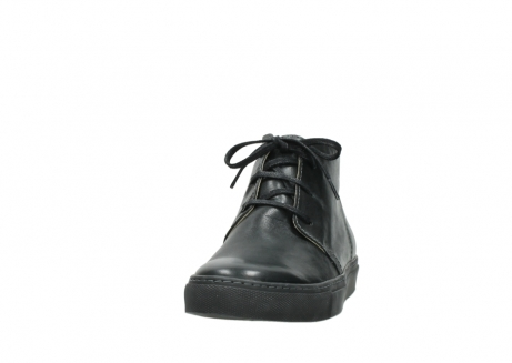 wolky lace up boots 09985 ww ranger 20000 black leather_20