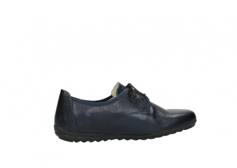 wolky lace up shoes 00126 luzern 81800 blue metallic leather_12