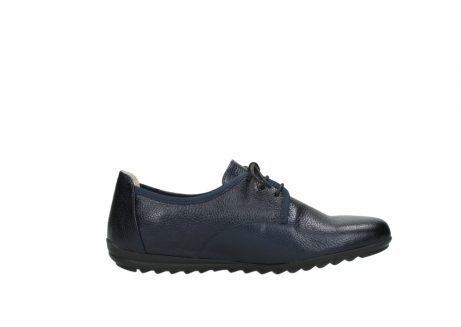 wolky lace up shoes 00126 luzern 81800 blue metallic leather_13