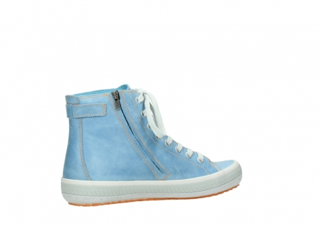 wolky lace up shoes 01225 biker 30840 jeans blue leather_11