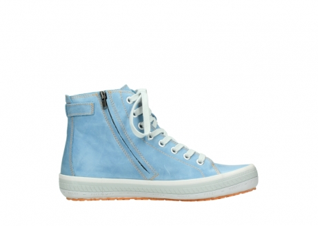 wolky lace up shoes 01225 biker 30840 jeans blue leather_13