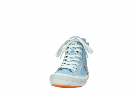 wolky lace up shoes 01225 biker 30840 jeans blue leather_20